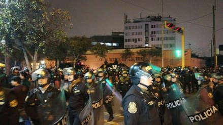 Enfrentamientos entre la Policía y manifestantes se registraron en la marcha contra la corrupción