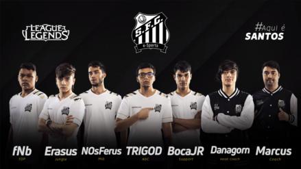 Santos F.C. presentó su división de League of Legends