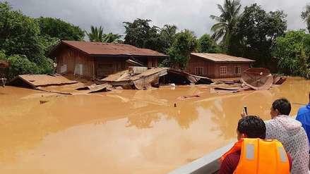 El agua de la represa colapsada en Laos llega hasta Camboya y deja más de 130 desaparecidos