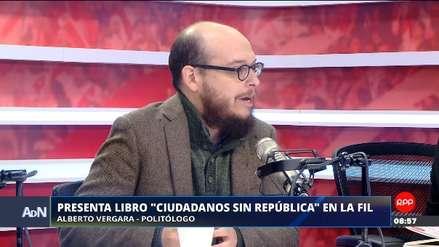 """Alberto Vergara sobre el término 'caviar': """"Es una manifestación lingüística de nuestra precariedad política"""""""