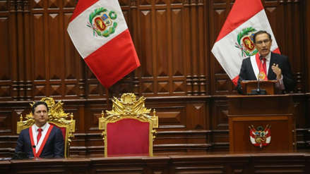 """Vizcarra invocó a la población denunciar casos de corrupción: """"Seremos implacables"""""""