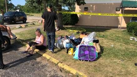 Cinco niños y una mujer murieron en un incendio en un hotel de Estados Unidos