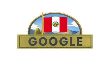 Día de la Independencia del Perú: Google estrenó nuevo doodle por Fiestas Patrias