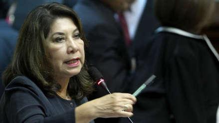 """Martha Chávez rechazó el referéndum por reelección congresal: """"Vizcarra hace populismo barato"""""""