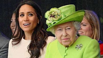Meghan Markle: La reina Isabel II prohibió uno de sus platos preferidos