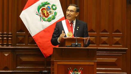 Vizcarra destacó labor de la prensa para evidenciar el deterioro del sistema judicial