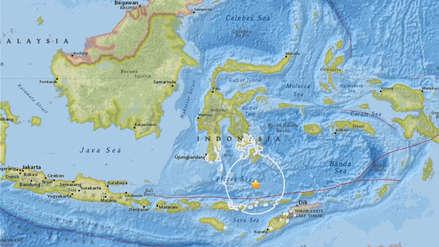Al menos 10 muertos y 40 heridos por el sismo de magnitud 6.4 en Indonesia