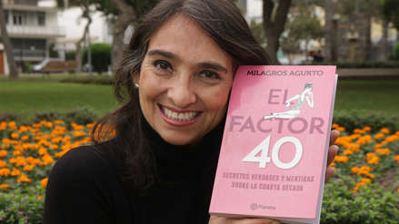 FIL Lima 2018: Milagros Agurto y su secreto para disfrutar de los 40