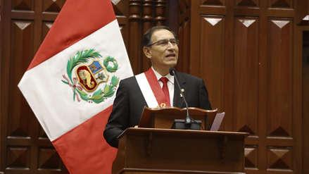 Martín Vizcarra | Los seis puntos de su primer discurso por Fiestas Patrias