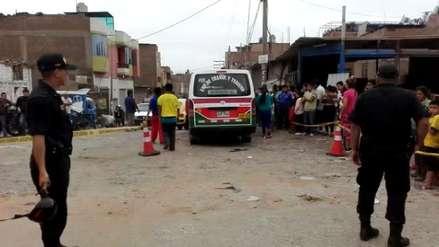Asesinan a chofer de combi durante Fiestas Patrias en Trujillo