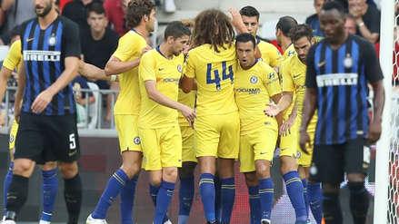 Chelsea venció por penales al Inter de Milán en la International Champions Cup