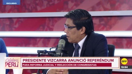 Zeballos: Esperamos que propuesta de referéndum prospere en consenso con el Congreso