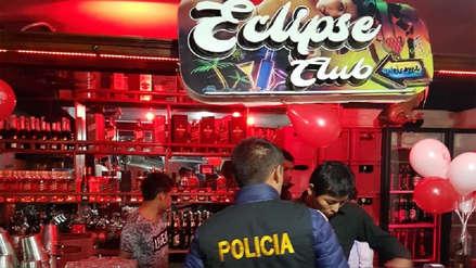 Policía interviene local donde se ejercía la prostitución