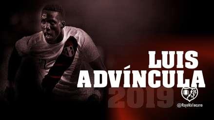 Luis Advíncula llega cedido al Rayo Vallecano de La Liga