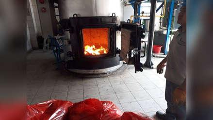 Retiran más de 37 toneladas de residuos del hospital Regional Lambayeque