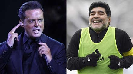 Luis Miguel y la noche en que Diego Maradona le hizo pagar 6 mil dólares