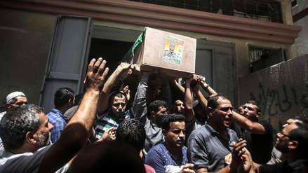Dos palestinos murieron en bombardeos del Ejército israelí en Gaza