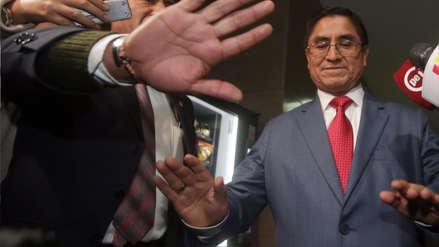 Coordinador de Fiscalías: El Congreso determinará si César Hinostroza es acusado o no