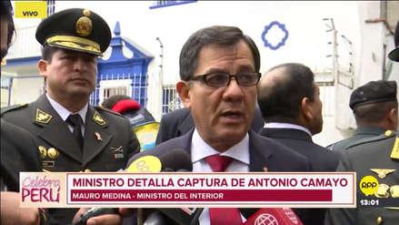"""Mauro Medina tras la captura de Antonio Camayo: """"La población está exigiendo resultados concretos"""""""