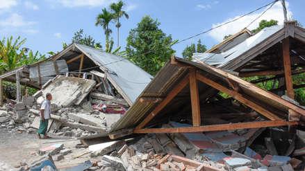 Terremoto en Indonesia deja más de 10 muertos y cientos de heridos
