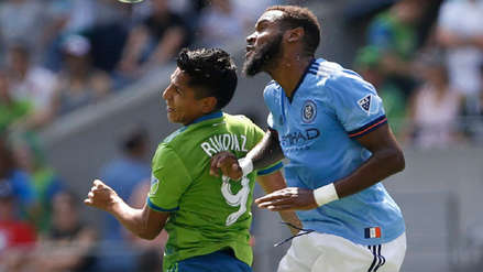 Con Raúl Ruidíaz como titular, Seattle Sounders venció a New York City por la MLS