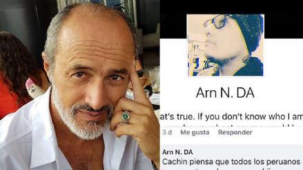 Carlos Alcántara le responde a usuario que insultó a su hijo en redes sociales