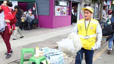 Parada Militar | Más de siete toneladas de basura se recogieron tras el evento cívico