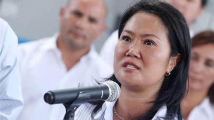El fiscal Pérez Gómez no descartó nueva declaración de Keiko Fujimori por caso cócteles
