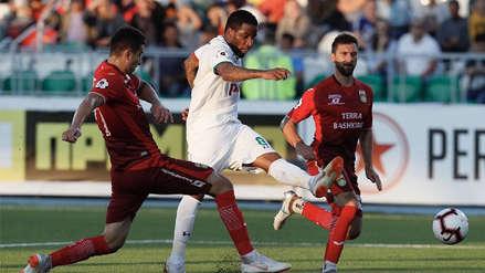 Lokomotiv con Jefferson Farfán empató 0-0 ante Ufa por la Liga Rusa