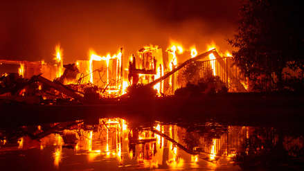 Las dramáticas imágenes de los incendios mortales de California que se mantienen sin control