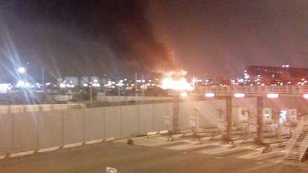 Un incendio consume varias viviendas en un asentamiento humano en el Callao