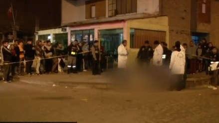 Dueño de pollería mató a asaltante en Comas