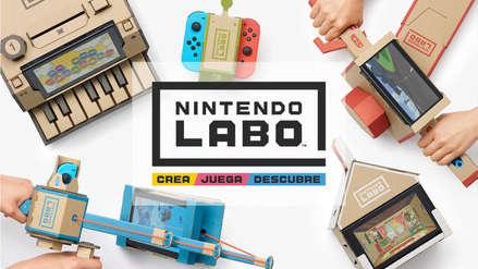 Nintendo Labo logra vender más de un millón de cajas de cartón