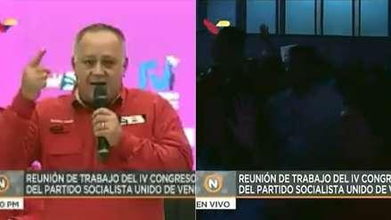 Un apagón sorprendió a congreso chavista cuando votaban la ratificación de Maduro como su líder