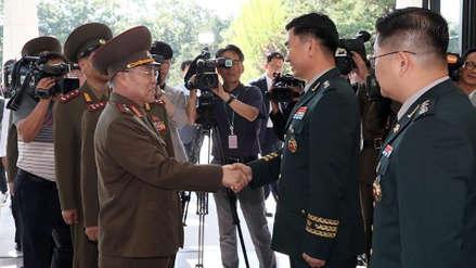 Las dos Coreas realizan diálogo militar para disminuir la tensión en su frontera