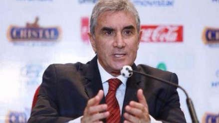 Juan Carlos Oblitas dará una conferencia de prensa por el caso de Edwin Oviedo