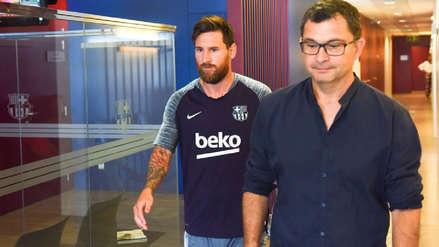 Así fue el retorno de  Lionel Messi a los entrenamientos de Barcelona