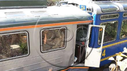Choque de trenes en la vía Machu Picchu deja más de 30 heridos