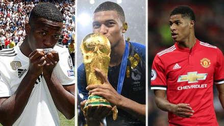 Los 10 jugadores sub 20 más caros del mundo