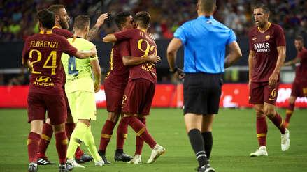 Barcelona cayó 4-2 ante la Roma por la International Champions Cup