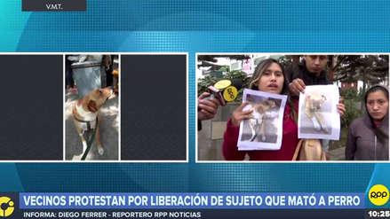 Liberan a hombre que mató a fierrazos a un perro en Villa María del Triunfo