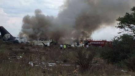 Un pasajero grabó el momento en que se estrella el avión de Aeroméxico
