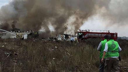 Avión que se estrelló en México fue