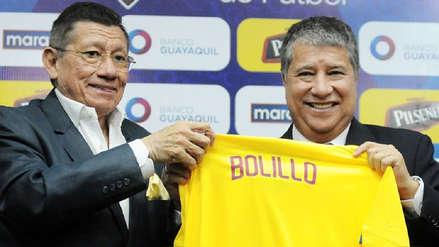 'Bolillo' Gómez presentado como DT de Ecuador con la mira puesta en Qatar 2022