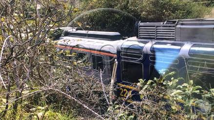 Conductores de trenes que chocaron en la vía a Machu Picchu fueron detenidos