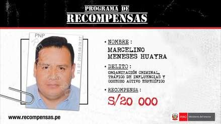 """Mininter ofrece 20 mil soles por miembros de """"Los cuellos blancos del Puerto"""""""