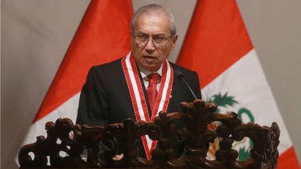 Pedro Chávarry admitió que fue a reunión en casa de Antonio Camayo