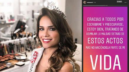 Miss Perú Mundo Estefani Mauricci: