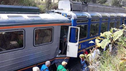 Perú Rail e Inca Rail tienen una semana para presentar descargos por choque de trenes