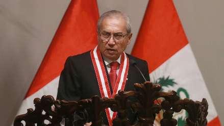 Ejecutivo insiste en que la Junta de Fiscales Supremos revise el caso de Pedro Chávarry